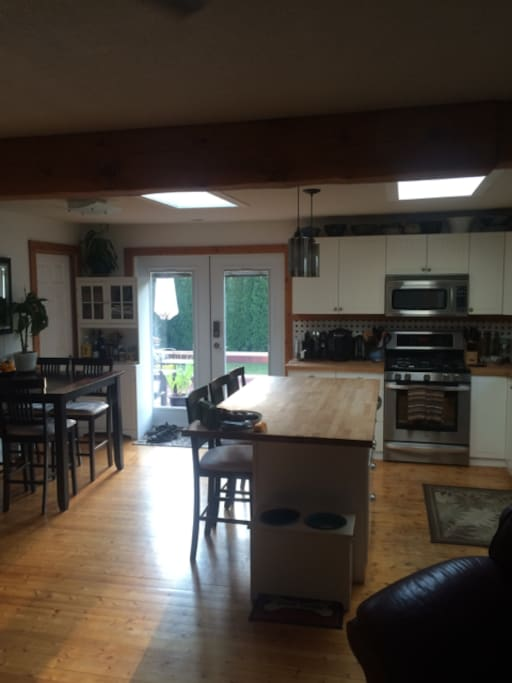 Kitchen and Dining Room