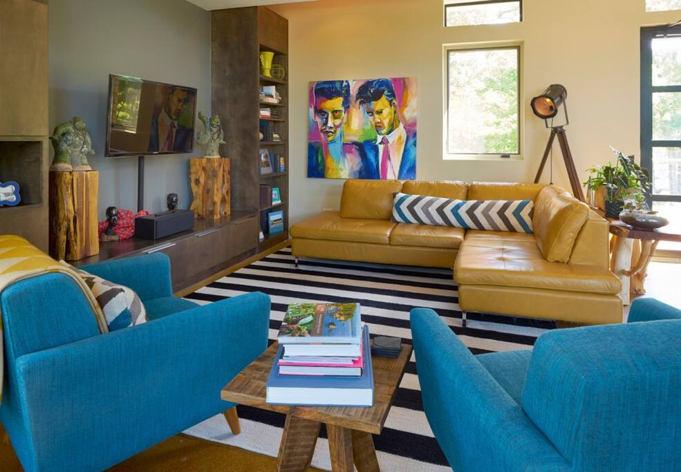 Living Room, as featured in May 2015 Oklahoma Magazine