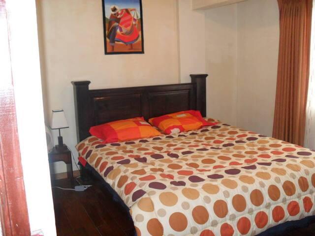 Nice room and cozy
