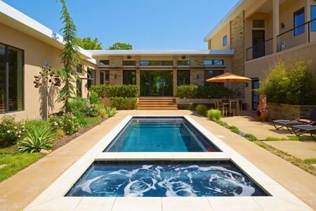 Modern Mid-Century Home on 9 acres - Oklahoma City - Talo