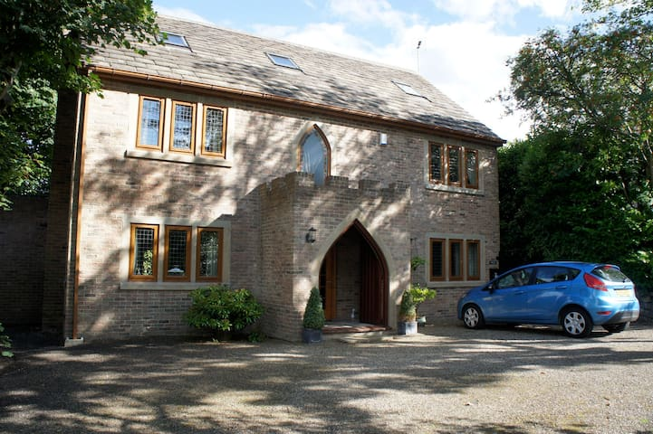 A large modern architecturally designed home - Stocksbridge - House