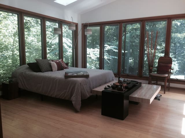 Zen meets nature and comfort - DeKalb - Casa