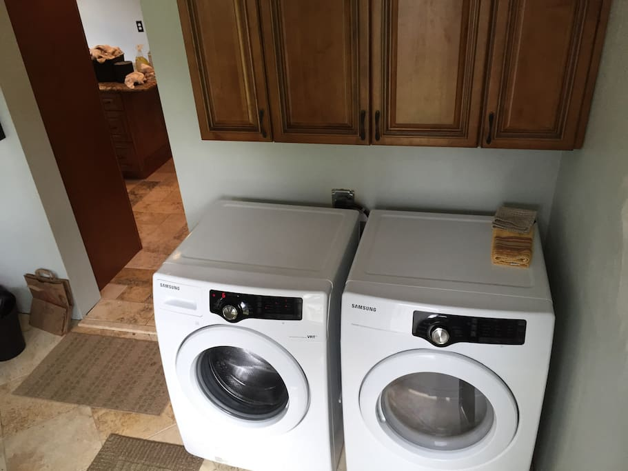 Laundry room - conveniently located next to kitchen