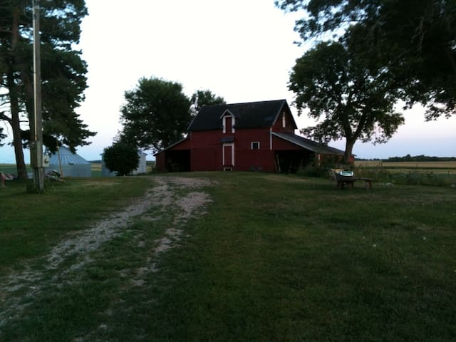 Century farmstead in SW Minnesota. - Clarkfield