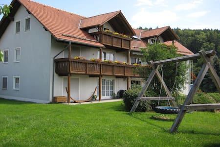Bauernhofurlaub, Ferienwohnung, - Brennberg - 아파트