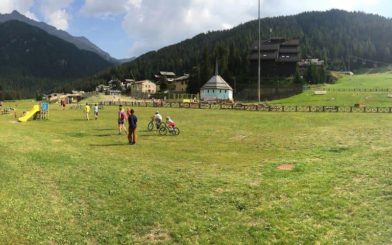 Monolocale 4 C sulle piste da sci - Santa Caterina di Valfurva - Pis