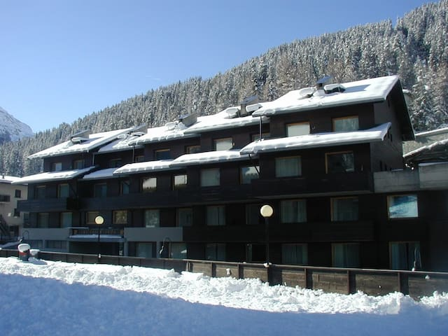 Apartments on the ski slopes - Santa Caterina di Valfurva - Daire