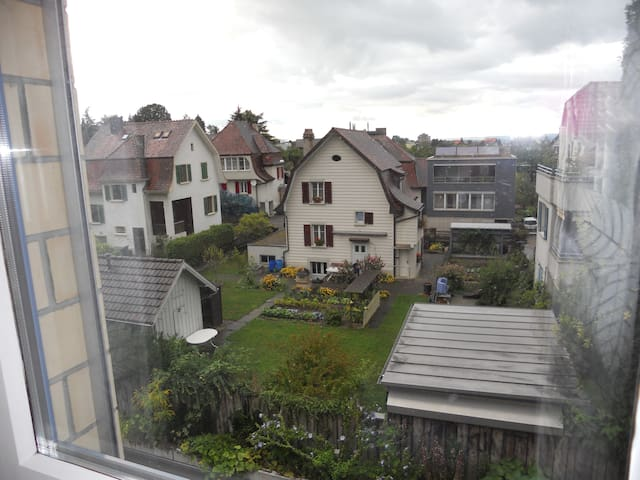 Zimmer/Wohnung im Zentrum - Romanshorn - อพาร์ทเมนท์