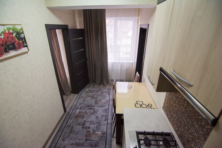 (G)Cozy apartment, quiet, near City Center