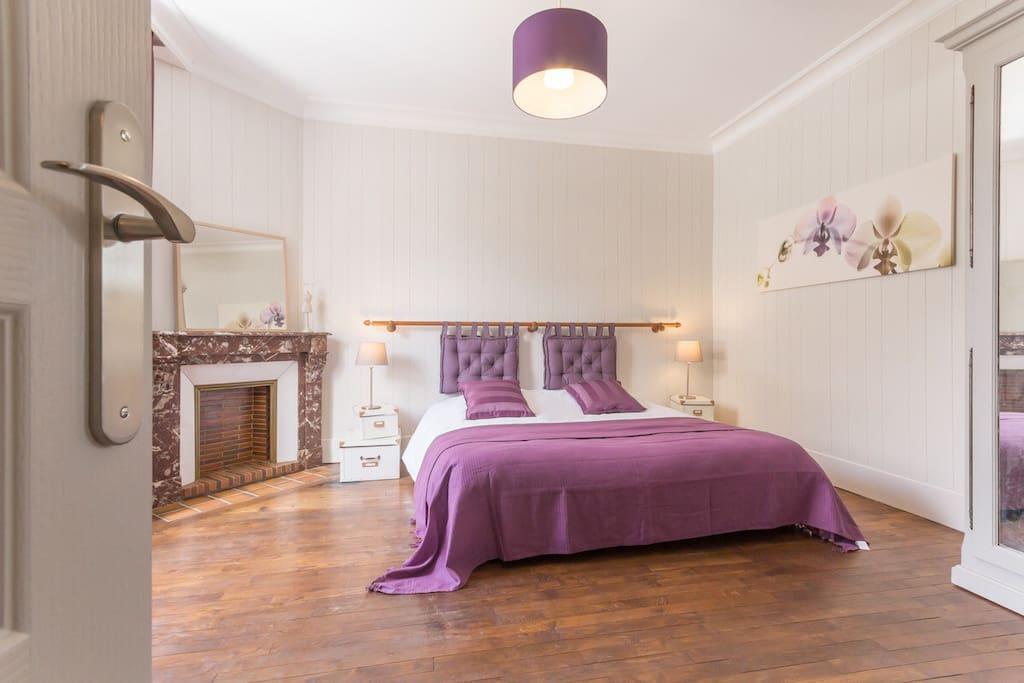 Chambre Romanée Conti - Gîte Beaune