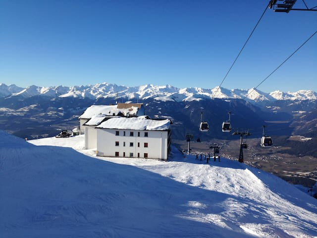 2275 m - live on top of the world! - Bruneck