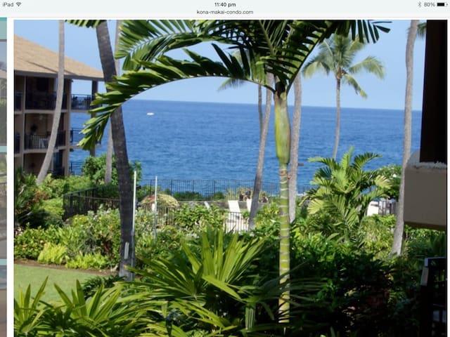 Kona Makai - Beautiful Oceanfront quiet complex - Kailua-Kona - Kondominium