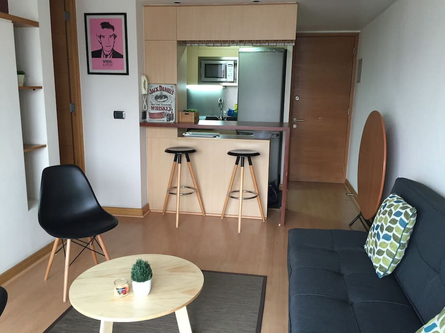 Living + Kitchenette