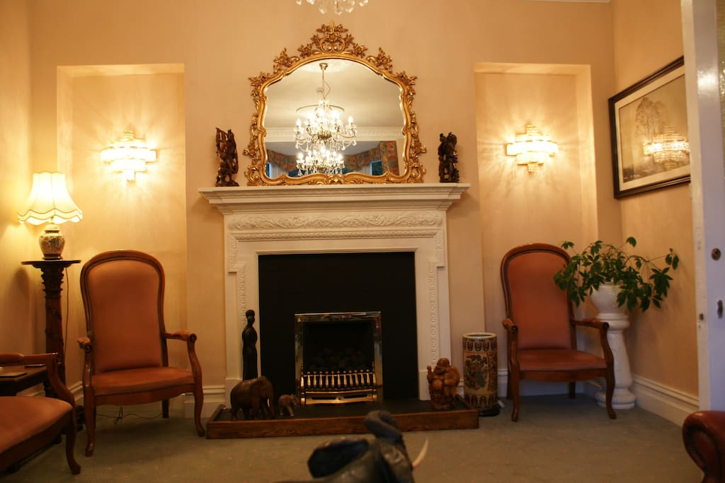 Guest House Lounge at Glencree