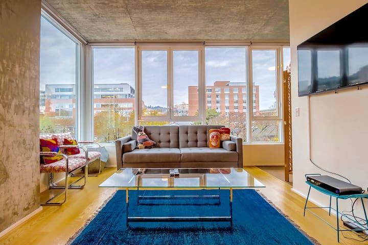 Portland★3bd/2ba★Downtown★Vibran★Gym★LEEDBuilding - Portland - Appartement