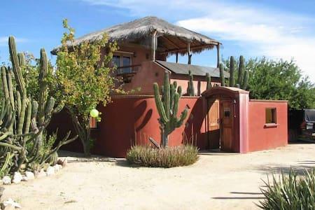 Cabo Pulmo ~ Casa Cactus ~ 2 Suites - Cabo Pulmo - 独立屋