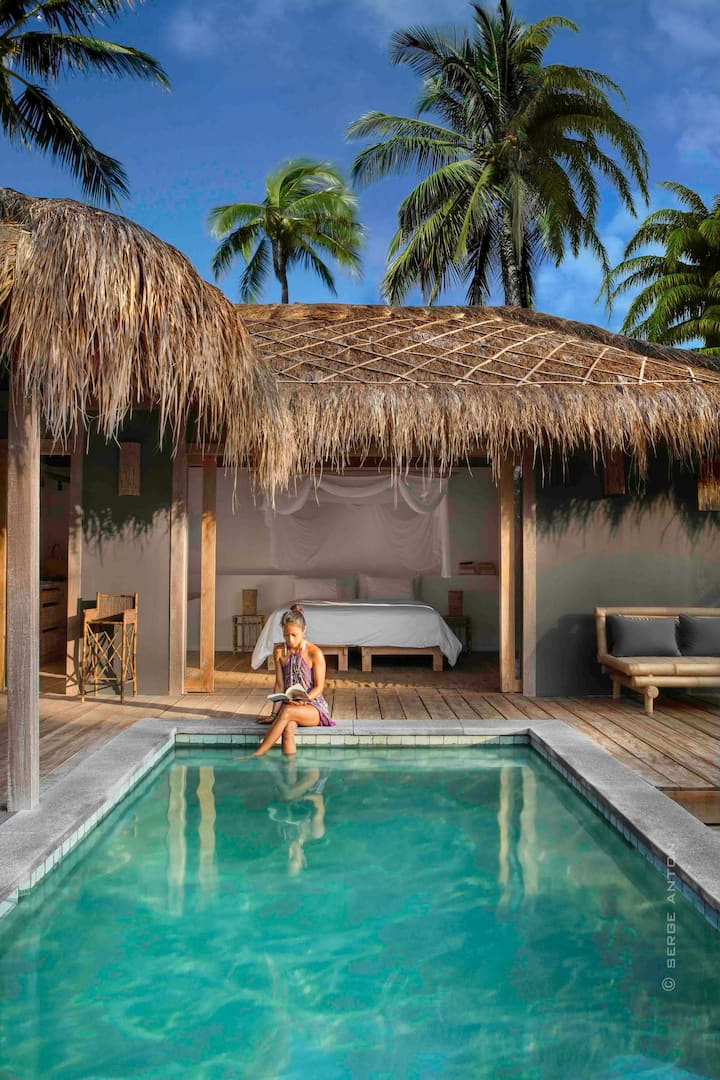 Slow Single Private Pool Vila no.2