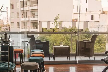 Cozy apartment in Miraflores