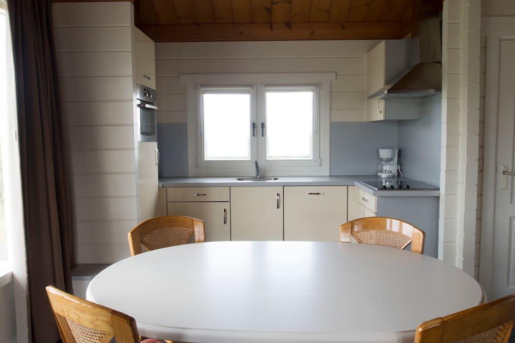 Eetkamer/open keuken