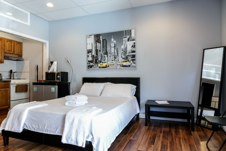 Studio Apt 10 mins from midtown NYC - Weehawken - Appartement