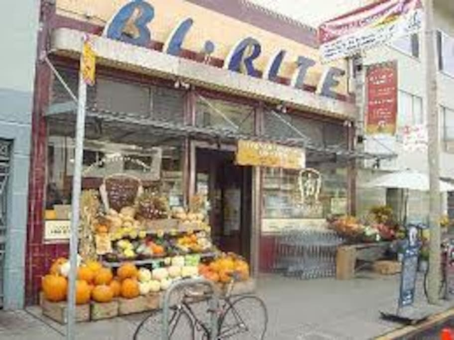 Bi-Rite Market. Simply Great, 4 blocks away. Grab some picnic food from here and head to Dolores Park for a picnic