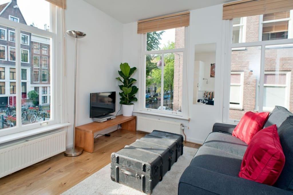 New canal city centre studio appartamenti in affitto a for Appartamenti amsterdam affitto mensile
