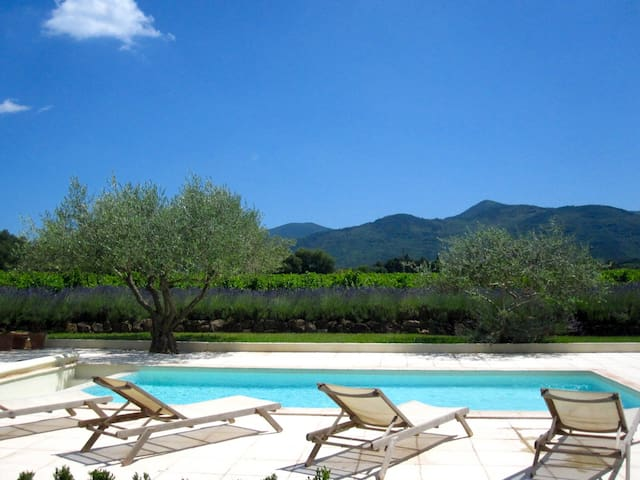Provence Luxury 18th c. Stone Farmhouse w/Pool AC - Gonfaron - Vila