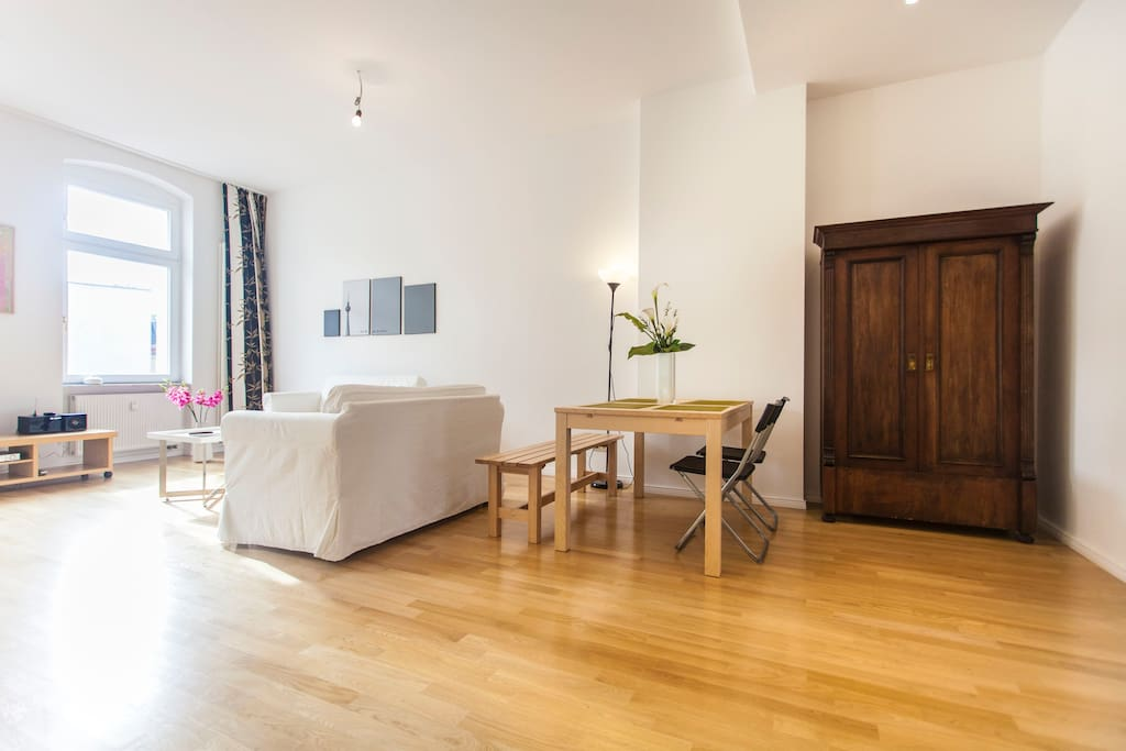 Apartment LEO in P'Berg, TOP located - Combined living room and kitchen