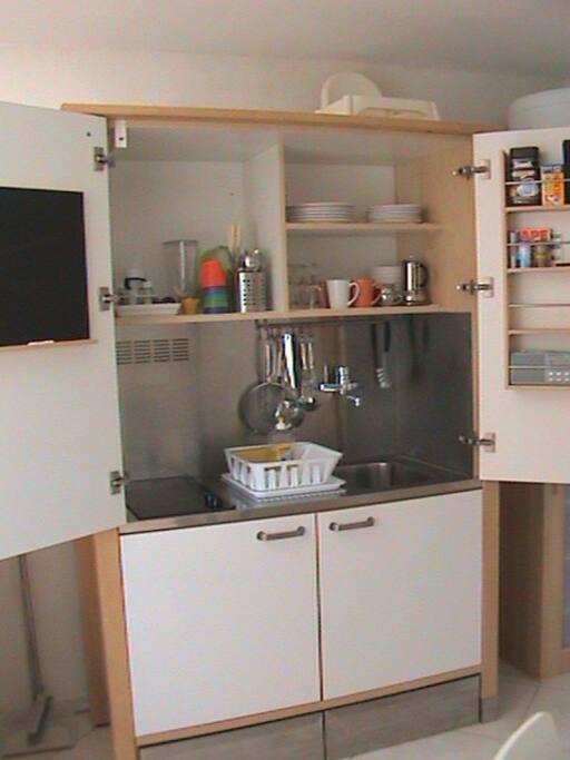 Moderne Schrankküche