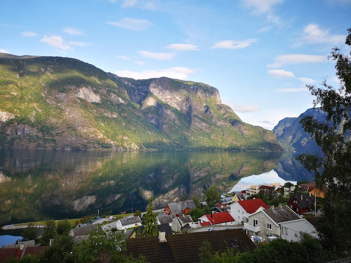 Fjord View Apartment in Aurland