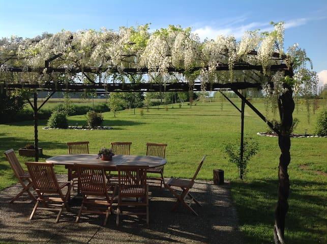 """Relax e magia alla   """"Castellana"""" - Borgolavezzaro - 家庭式旅館"""