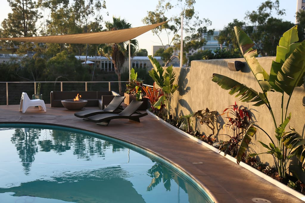 San Diego Retreat Swimming Pool Houses For Rent In San Diego California United States