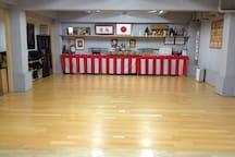 併設の剣道場