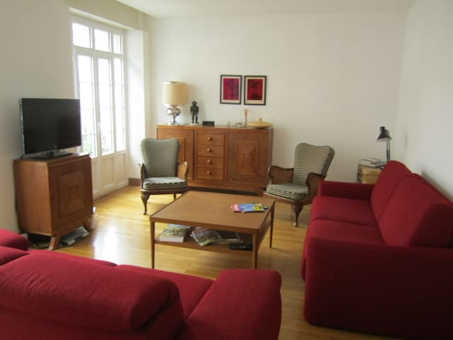 Grand appartement confortable -  hypercentre - Vendôme - Apartemen