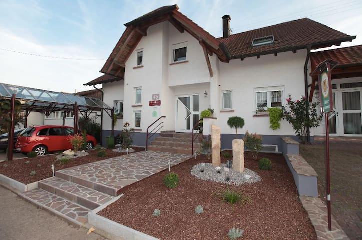 Ferienwohnung 1 mit Küche/Dusche/WC - Kapellen-Drusweiler - Appartement