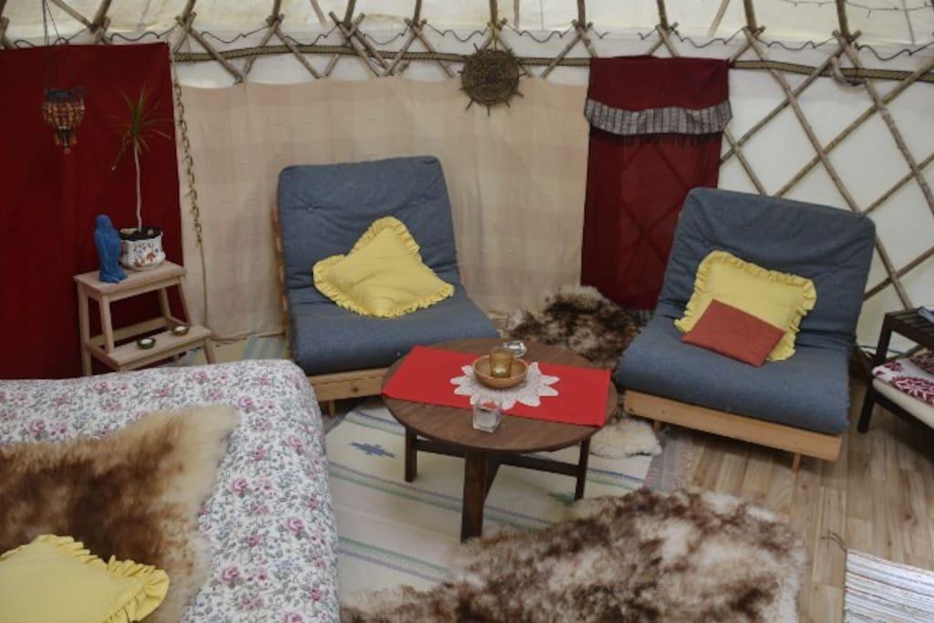 Amazing Yurt...the best of camping!