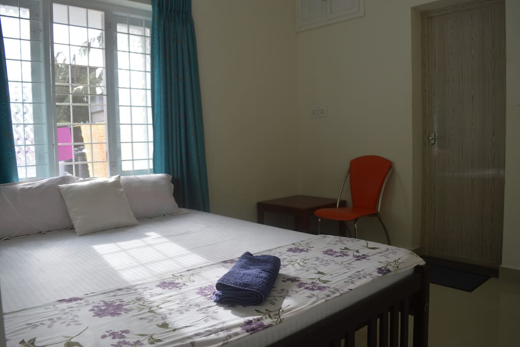 Bright and clean Double Bed Room