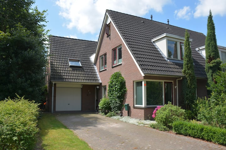 Typical Dutch family house