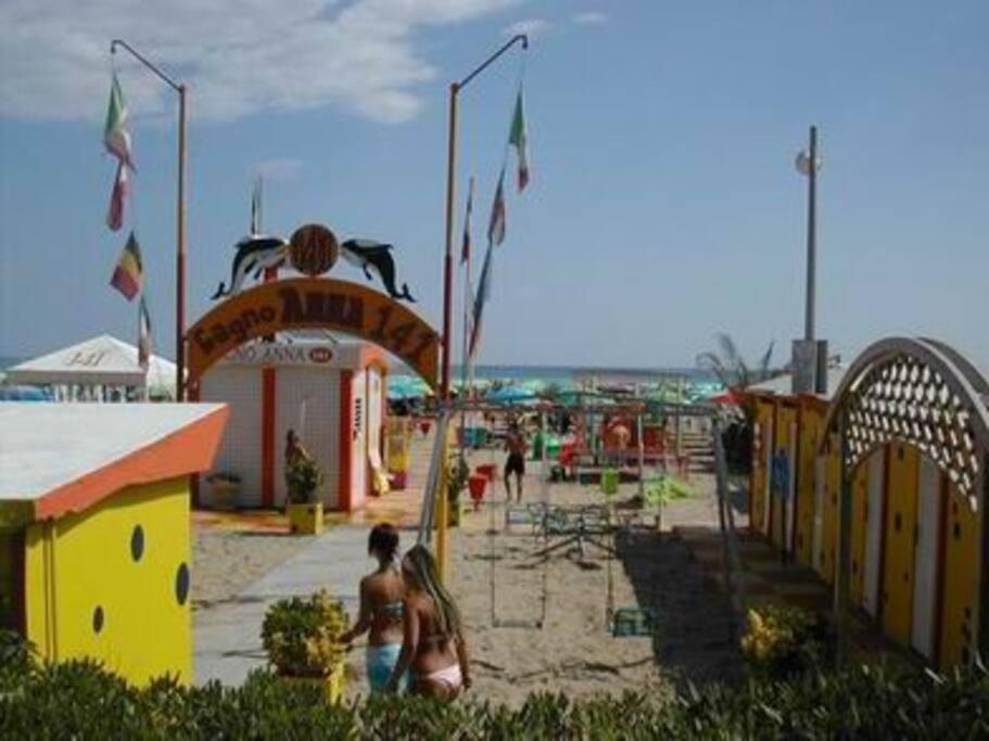 Spiaggia attrezzata o libera