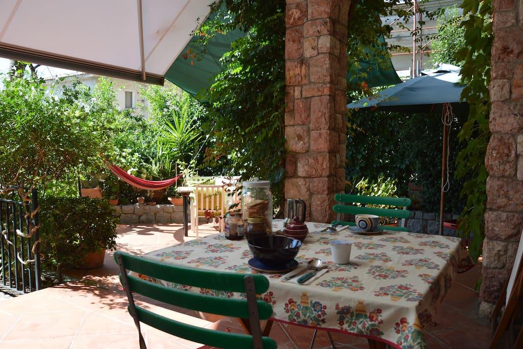 Spazio all'aperto - outdoor space