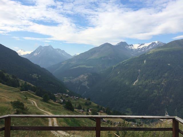 Petit chalet de montagne - Saint-Martin - Chalet