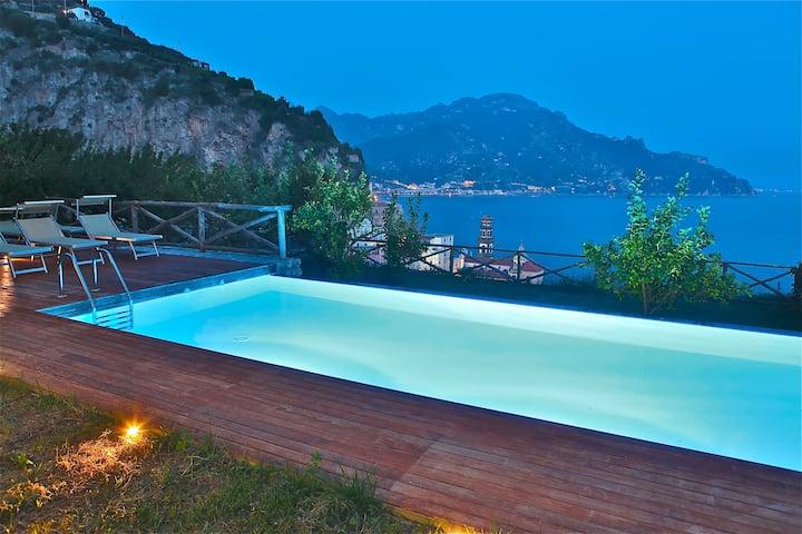 Amalfi Villa sleeps 24