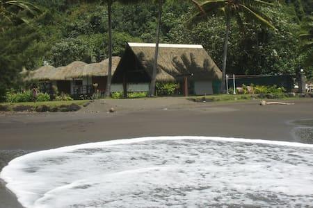 Chalet 1 chambre à Tahiti-Faaone j - Papara - 木屋