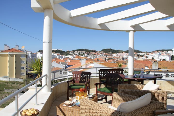 soleil au portugal près de Nazaré - São Martinho do Porto - Appartement
