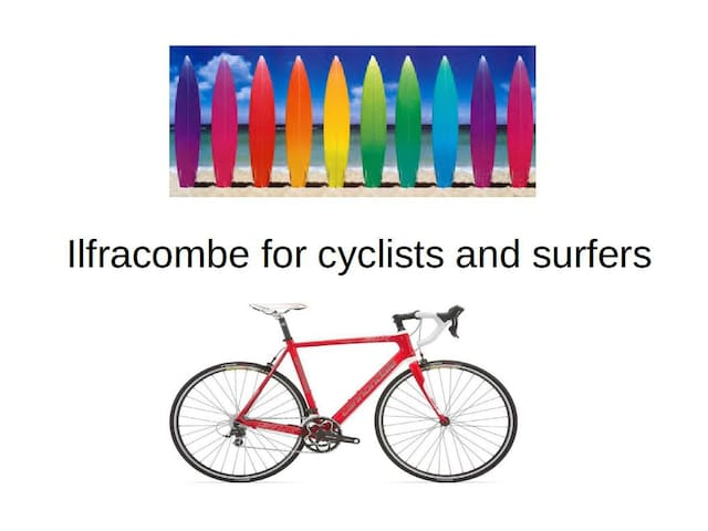 ILFRACOMBE for surfers and cyclists - Ilfracombe - Huis