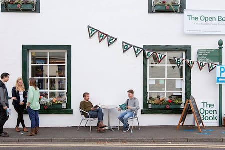 The Open Book - a bookshop holiday! - Wigtown - Haus