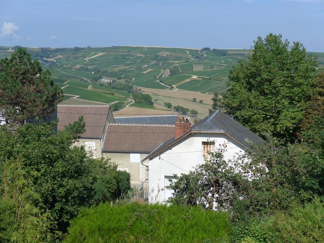 Panoramic view on Sancerre hill - Sancerre - Dům