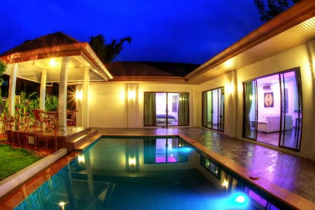 TEM- 3 Bed Family Pool Villa from 150 US per night -  Chalong