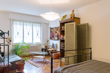 Cosy Spacious Private Double Room - Pully