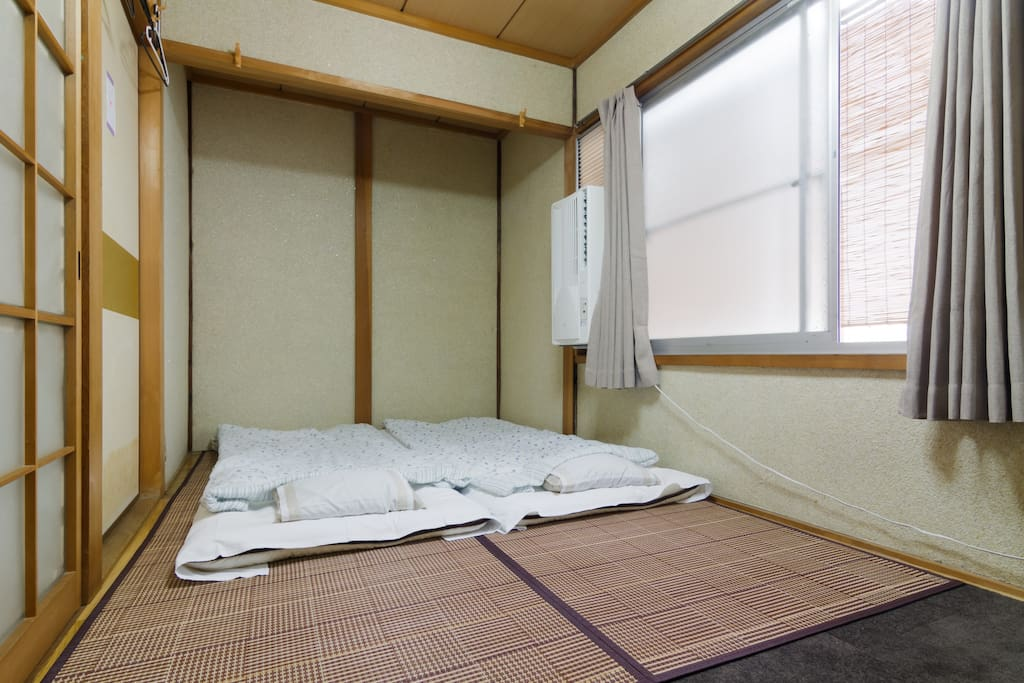 Your private bedroom.